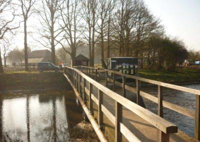 Herstel brug stuw Besselink Almen 10 - Bargeman Vorden aannemersbedrijf