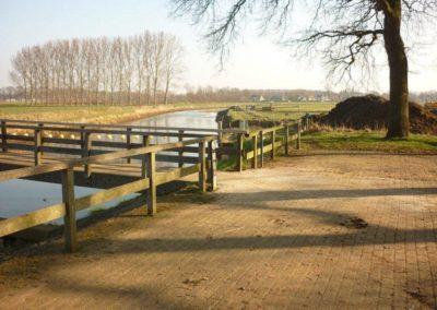 Herstel brug stuw Besselink Almen 4 - Bargeman Vorden aannemersbedrijf