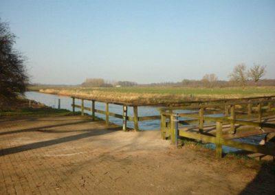 Herstel brug stuw Besselink Almen 5 - Bargeman Vorden aannemersbedrijf