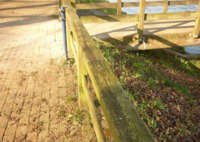 Herstel brug stuw Besselink Almen 6 - Bargeman Vorden aannemersbedrijf