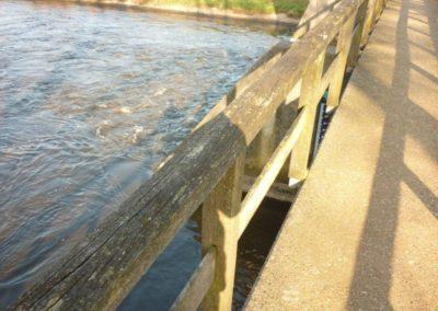 Herstel brug stuw Besselink Almen 7 - Bargeman Vorden aannemersbedrijf
