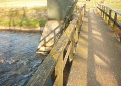 Herstel brug stuw Besselink Almen 8 - Bargeman Vorden aannemersbedrijf