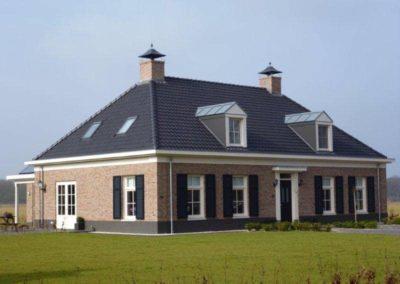 Nieuwbouw dubbel woonhuis Wildenborch 1 - Bargeman Vorden aannemersbedrijf