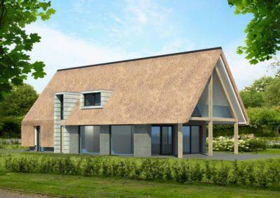 Nieuwbouw impressie woonhuis Barchem 1 - Bargeman Vorden aannemersbedrijf