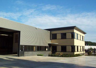 Nieuwbouw kantoor 2 - Bargeman Vorden aannemersbedrijf