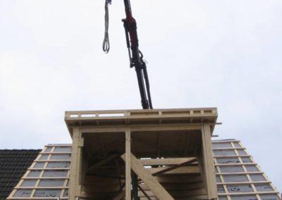 Prefab kapconstructie woninguitbreiding 3 - Bargeman Vorden aannemersbedrijf