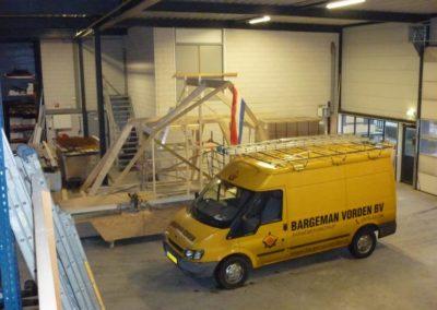 Prefab kapconstructie woninguitbreiding 5 - Bargeman Vorden aannemersbedrijf