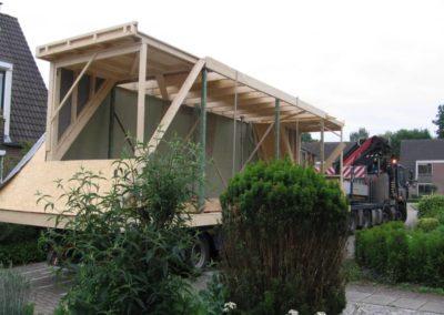 Prefab kapconstructie woninguitbreiding 8 - Bargeman Vorden aannemersbedrijf